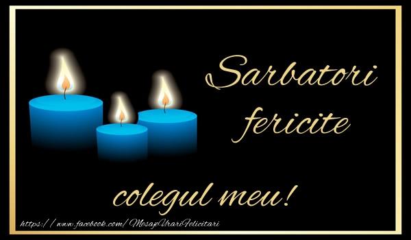 Felicitari frumoase de Anul Nou pentru Coleg | Sarbatori fericite colegul meu!