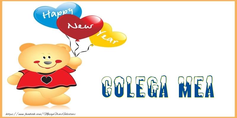 Felicitari frumoase de Anul Nou pentru Colega | Happy New Year colega mea!