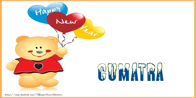 Felicitari frumoase de Anul Nou pentru Cumatra | Happy New Year cumatra!