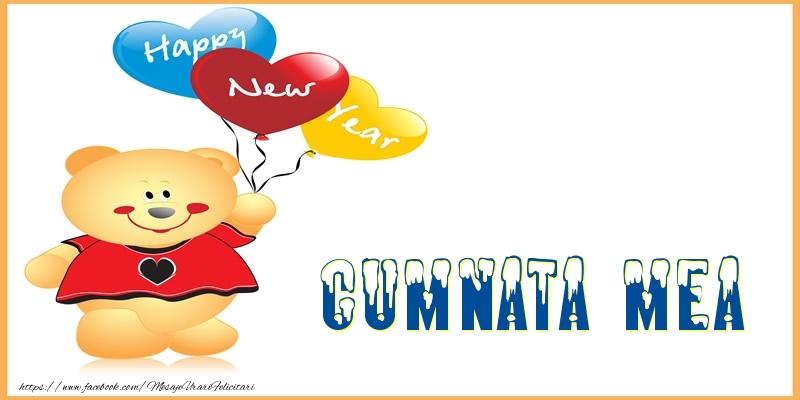 Felicitari frumoase de Anul Nou pentru Cumnata | Happy New Year cumnata mea!