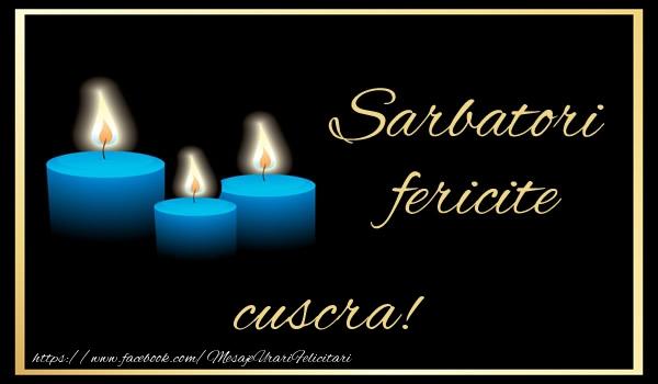 Felicitari frumoase de Anul Nou pentru Cuscra | Sarbatori fericite cuscra!