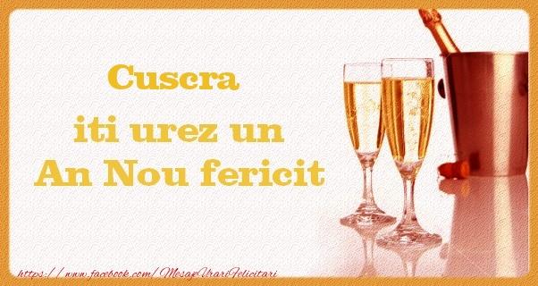 Felicitari frumoase de Anul Nou pentru Cuscra | Cuscra iti urez un An Nou fericit