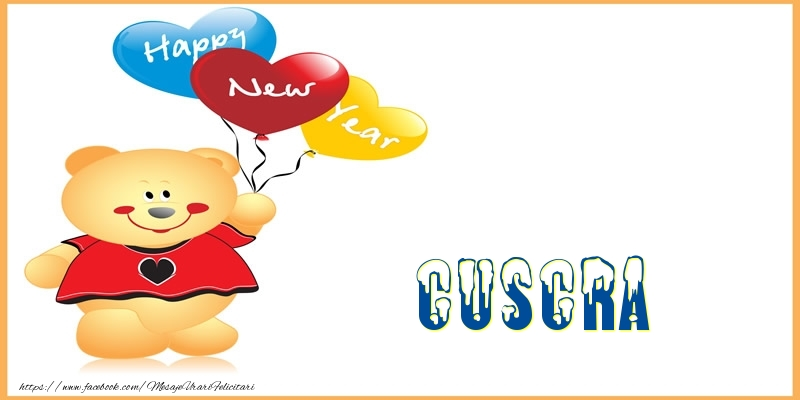 Felicitari frumoase de Anul Nou pentru Cuscra | Happy New Year cuscra!