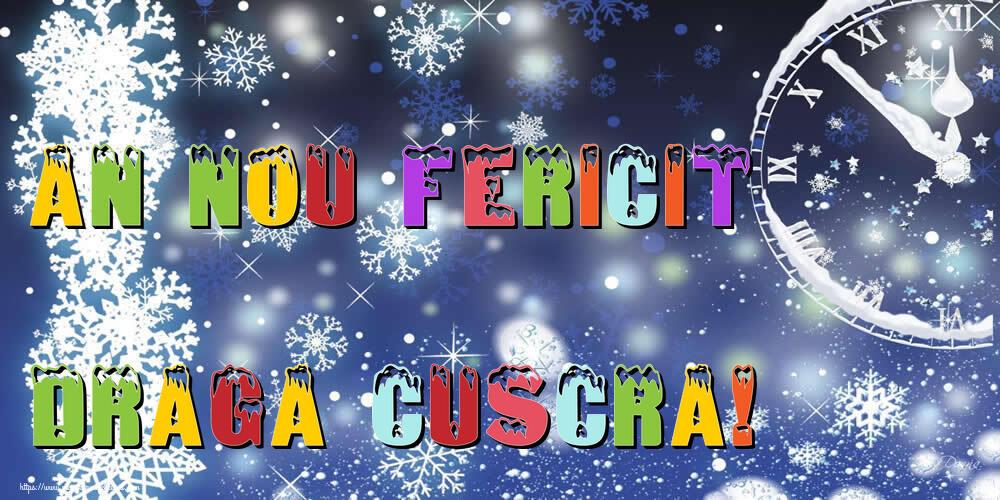 Felicitari frumoase de Anul Nou pentru Cuscra | An nou fericit draga cuscra!