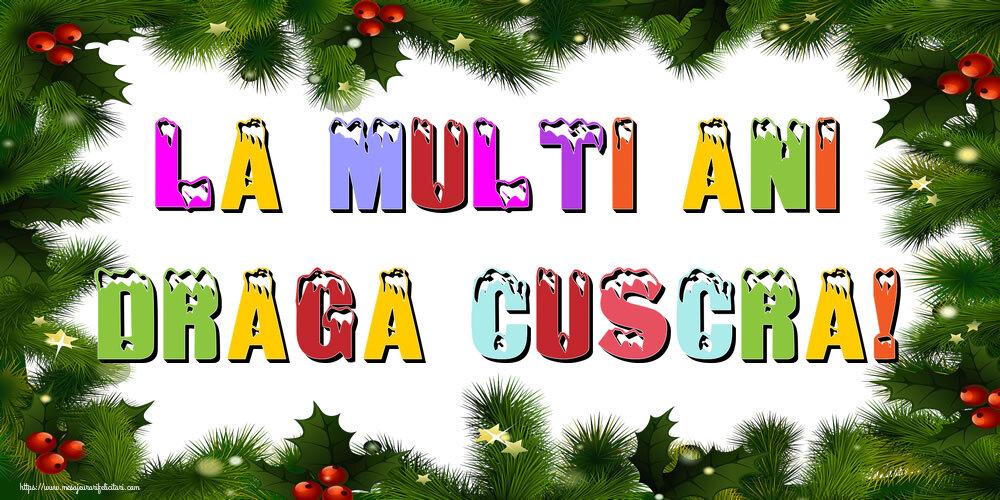 Felicitari frumoase de Anul Nou pentru Cuscra | La multi ani draga cuscra!