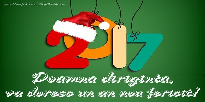 Felicitari frumoase de Anul Nou pentru Diriginta | Doamna diriginta, va doresc un an nou fericit!