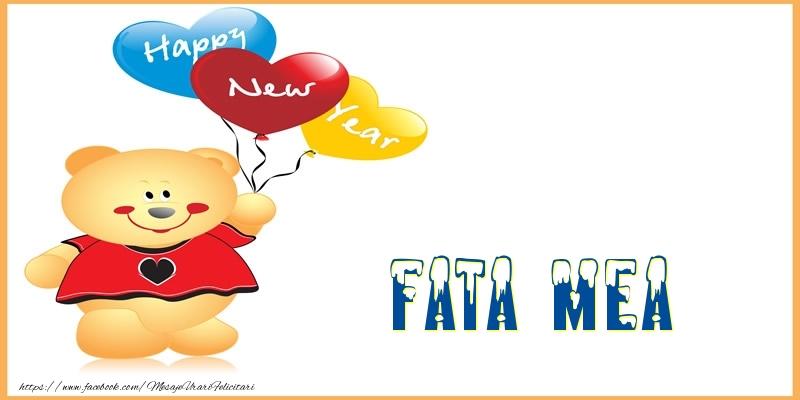 Felicitari frumoase de Anul Nou pentru Fata | Happy New Year fata mea!