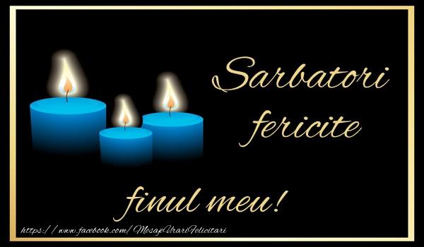Felicitari frumoase de Anul Nou pentru Fin | Sarbatori fericite finul meu!