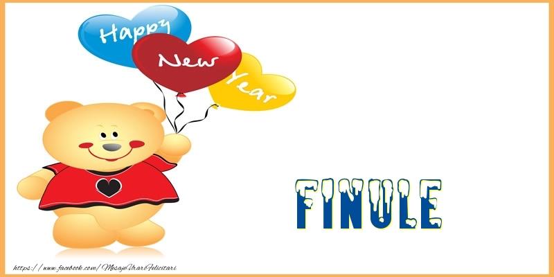 Felicitari frumoase de Anul Nou pentru Fin | Happy New Year finule!