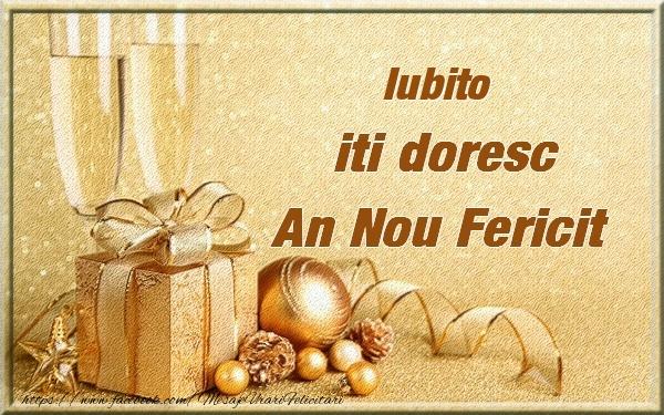 Felicitari frumoase de Anul Nou pentru Iubita | Iubito iti urez un An Nou Fericit