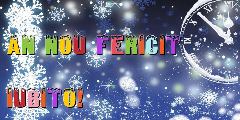 Felicitari frumoase de Anul Nou pentru Iubita | An nou fericit iubito!