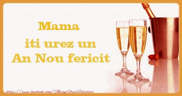 Felicitari frumoase de Anul Nou pentru Mama | Mama iti urez un An Nou fericit
