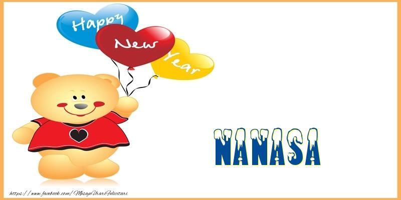 Felicitari frumoase de Anul Nou pentru Nasa | Happy New Year nanasa!