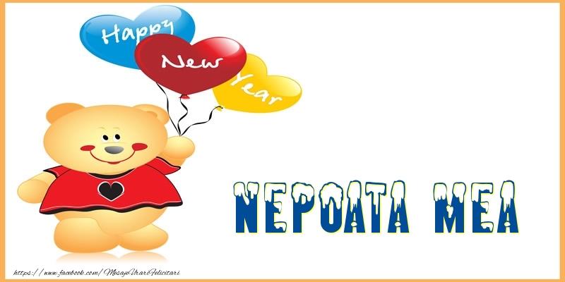 Felicitari frumoase de Anul Nou pentru Nepoata | Happy New Year nepoata mea!