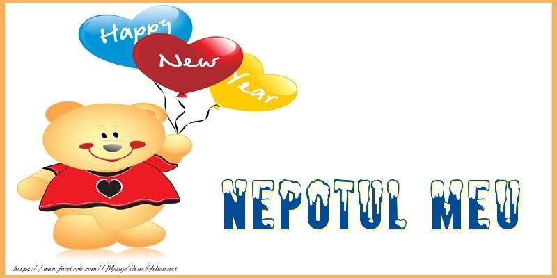 Felicitari frumoase de Anul Nou pentru Nepot | Happy New Year nepotul meu!