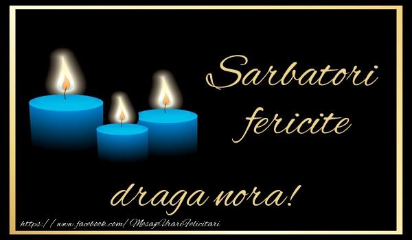 Felicitari frumoase de Anul Nou pentru Nora | Sarbatori fericite draga nora!
