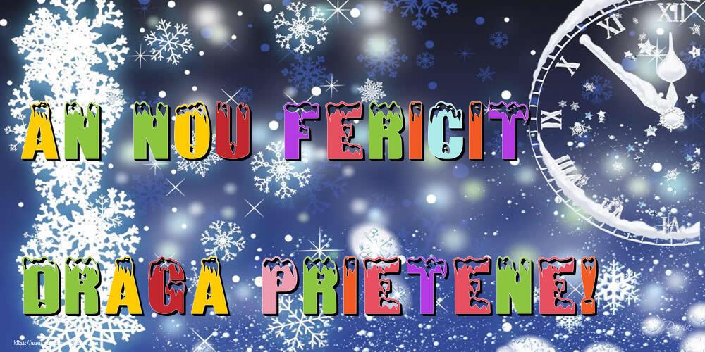 Felicitari frumoase de Anul Nou pentru Prieten | An nou fericit draga prietene!