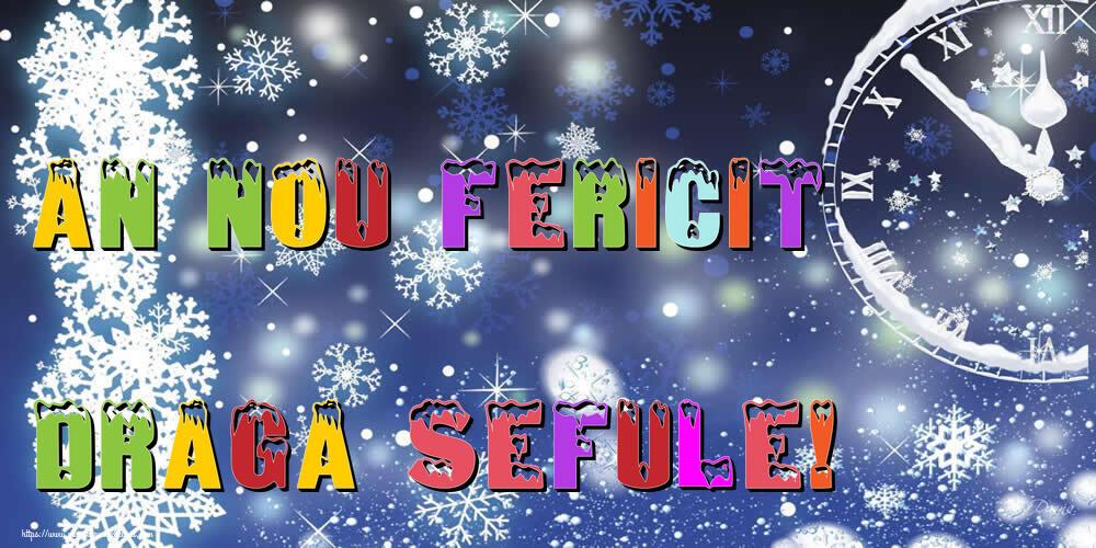 Felicitari frumoase de Anul Nou pentru Sef | An nou fericit draga sefule!