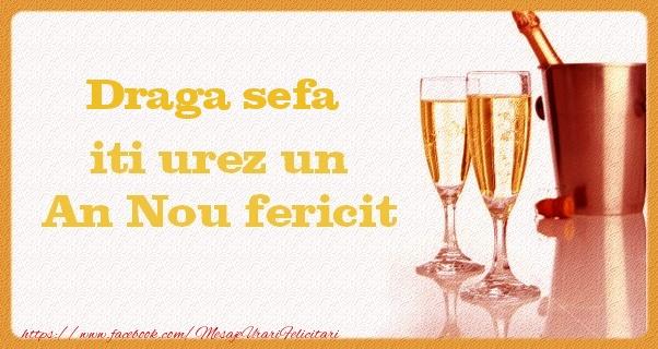 Felicitari frumoase de Anul Nou pentru Sefa | Draga sefa iti urez un An Nou fericit