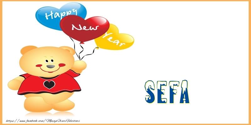 Felicitari frumoase de Anul Nou pentru Sefa | Happy New Year sefa!