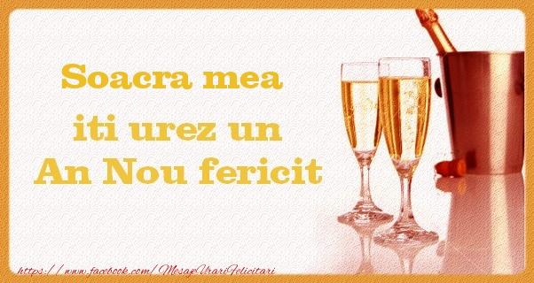 Felicitari frumoase de Anul Nou pentru Soacra | Soacra mea iti urez un An Nou fericit