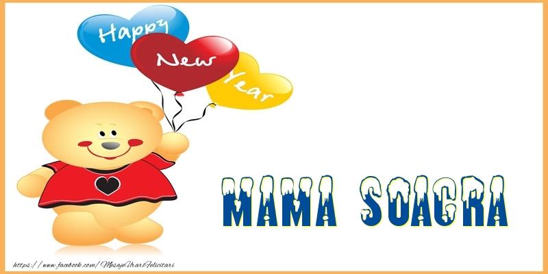 Felicitari frumoase de Anul Nou pentru Soacra | Happy New Year mama soacra!