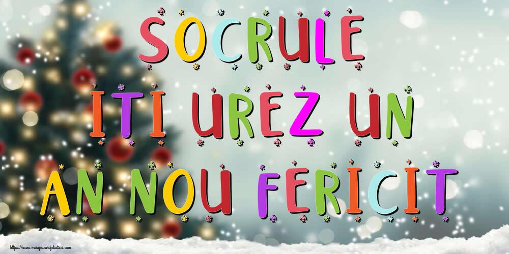 Felicitari frumoase de Anul Nou pentru Socru | Socrule, iti urez un An Nou Fericit!