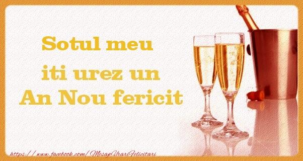 Felicitari frumoase de Anul Nou pentru Sot | Sotul meu iti urez un An Nou fericit