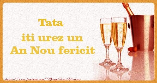 Felicitari frumoase de Anul Nou pentru Tata | Tata iti urez un An Nou fericit