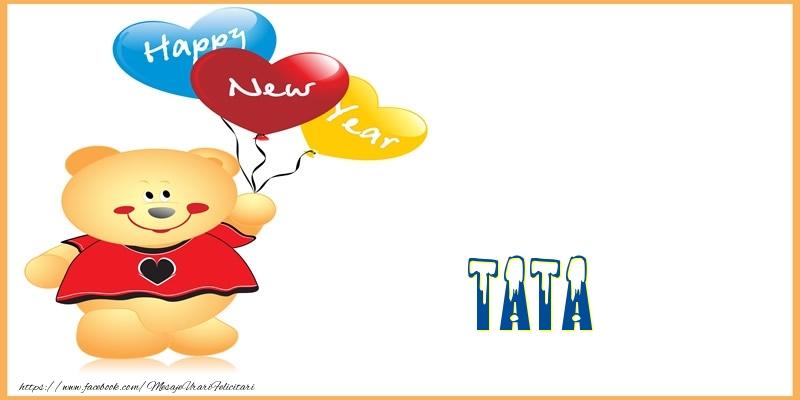 Felicitari frumoase de Anul Nou pentru Tata | Happy New Year tata!