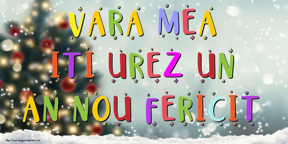 Felicitari frumoase de Anul Nou pentru Verisoara | Vara mea, iti urez un An Nou Fericit!