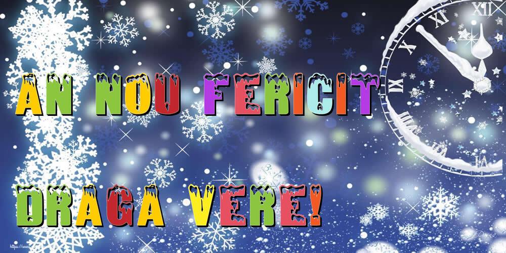 Felicitari frumoase de Anul Nou pentru Verisor   An nou fericit draga vere!