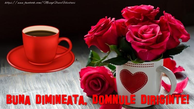 Felicitari frumoase de buna dimineata pentru Diriginte | Buna dimineata, domnule diriginte!
