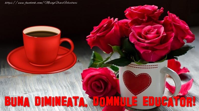 Felicitari frumoase de buna dimineata pentru Educator | Buna dimineata, domnule educator!