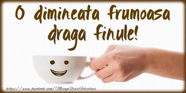 Felicitari frumoase de buna dimineata pentru Fin | O dimineata frumoasa draga finule!