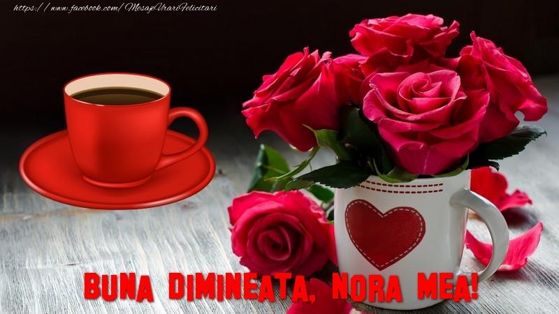 Felicitari frumoase de buna dimineata pentru Nora | Buna dimineata, nora mea!