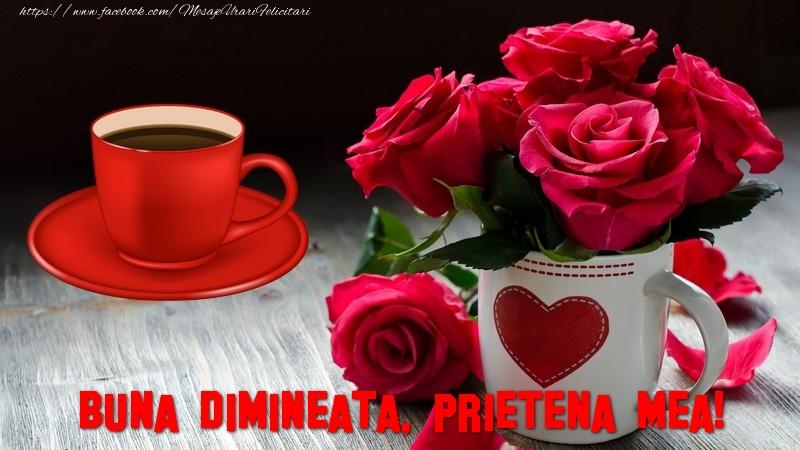 Felicitari frumoase de buna dimineata pentru Prietena | Buna dimineata, prietena mea!