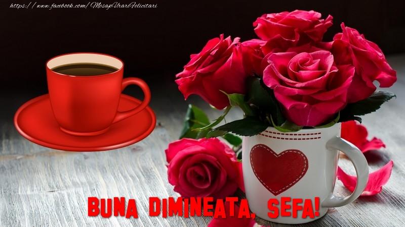 Felicitari frumoase de buna dimineata pentru Sefa   Buna dimineata, sefa!