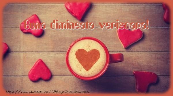 Felicitari frumoase de buna dimineata pentru Verisoara | Buna dimineata verisoara!