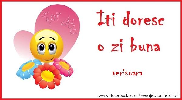 Felicitari frumoase de buna dimineata pentru Verisoara | O zi buna verisoara