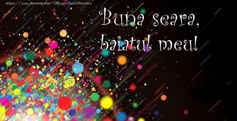 Felicitari frumoase de buna seara pentru Baiat | Buna seara, baiatul meu!