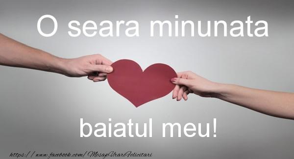 Felicitari frumoase de buna seara pentru Baiat | O seara minunata baiatul meu!