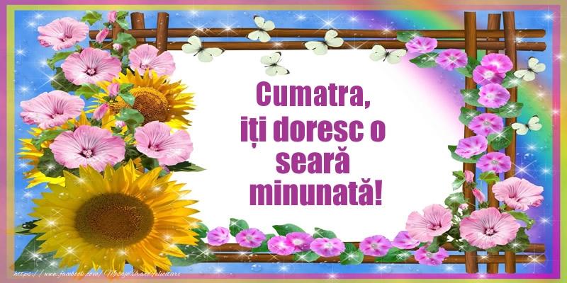 Felicitari frumoase de buna seara pentru Cumatra | Cumatra, iți doresc o seară minunată!