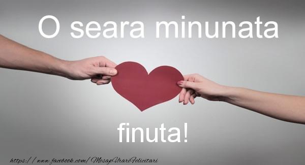 Felicitari frumoase de buna seara pentru Fina | O seara minunata finuta!
