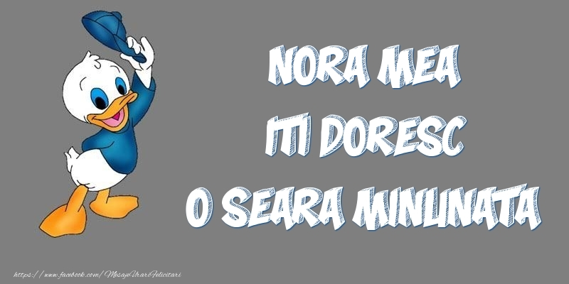 Felicitari frumoase de buna seara pentru Nora | Nora mea iti doresc o seara minunata