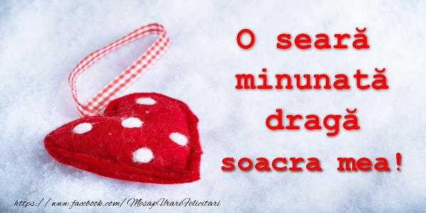 Felicitari frumoase de buna seara pentru Soacra | O seara minunata draga soacra mea!