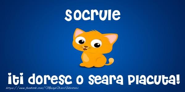 Felicitari frumoase de buna seara pentru Socru | Socrule iti doresc o seara placuta!