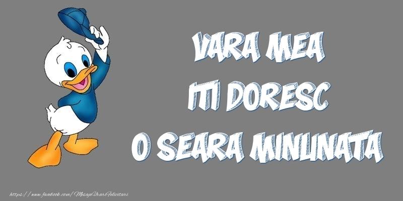 Felicitari frumoase de buna seara pentru Verisoara | Vara mea iti doresc o seara minunata