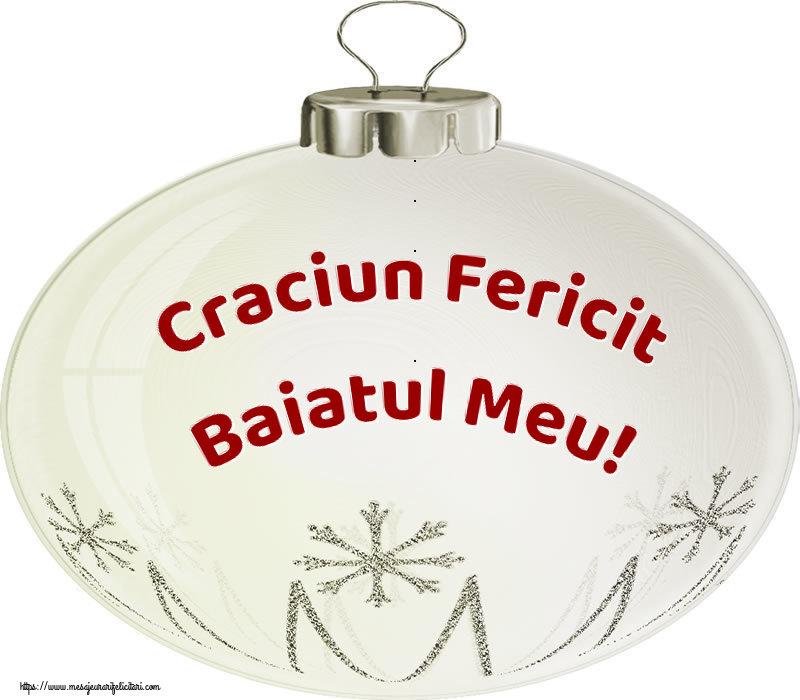Felicitari frumoase de Craciun pentru Baiat | Craciun Fericit baiatul meu!