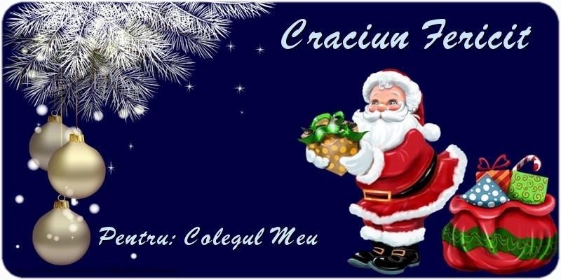 Felicitari frumoase de Craciun pentru Coleg   Craciun Fericit colegul meu